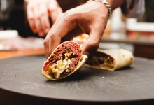 Hot Pastrami Wrap