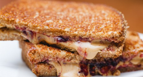Grilled PB & J (Peanut Butter and Jelly)