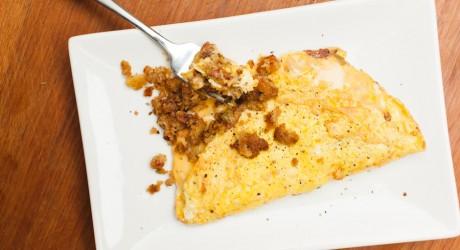 stuffing omelete