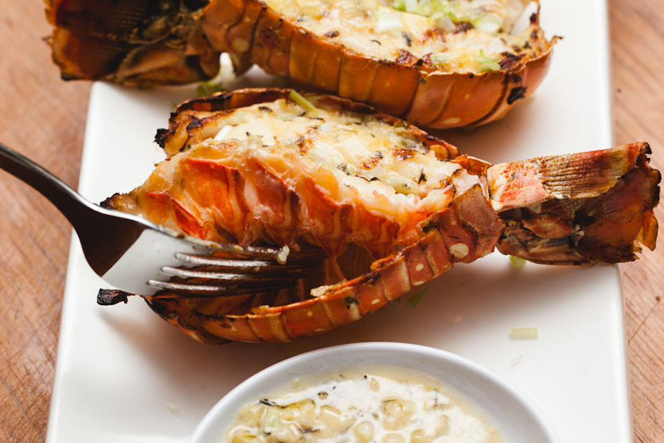 Grilled Lobster Tails Recipe Sam The Cooking Guy - 940x627 - jpeg