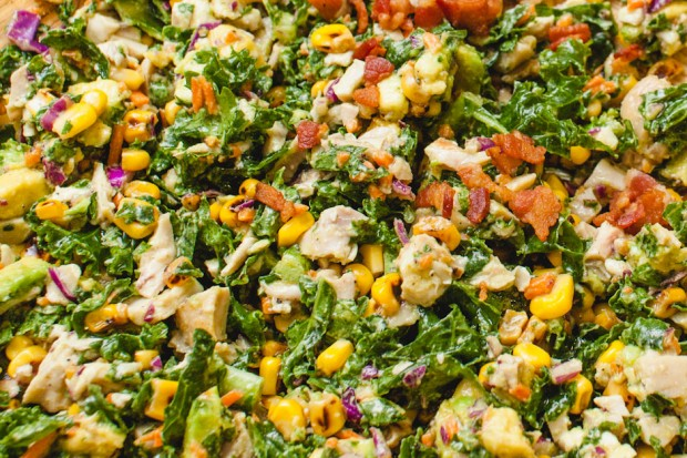 kale roasted corn salad (2)