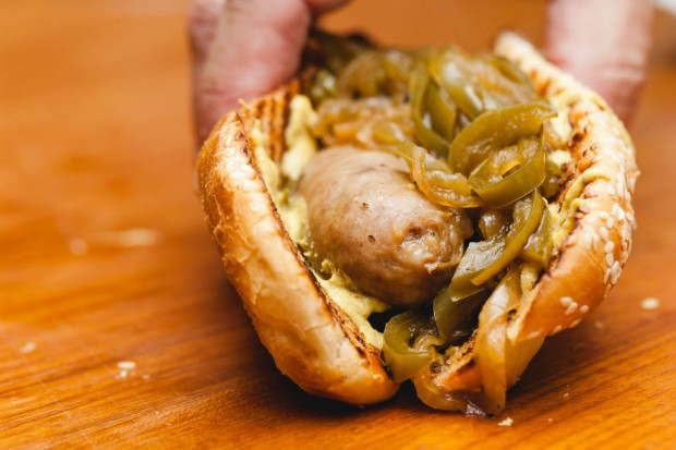 one pot bratwurst
