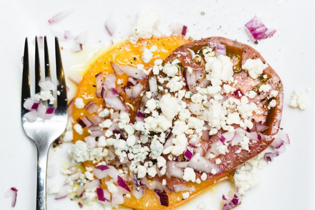 heirloom tomato salad - the sam livecast