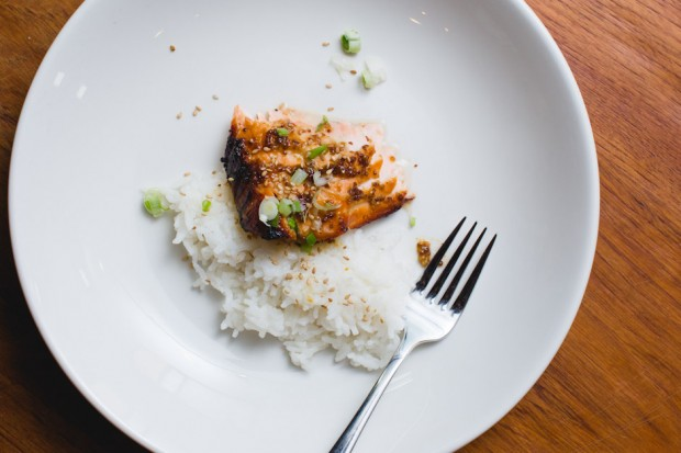 three ingredient salmon - the sam livecast