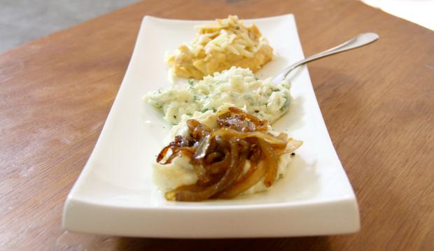Mashed Potatoes 3 ways - the sam livecast