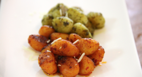 crispy gnocchi two ways - the sam livecast