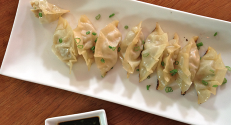 pork shrimp gyoza - the sam livecast