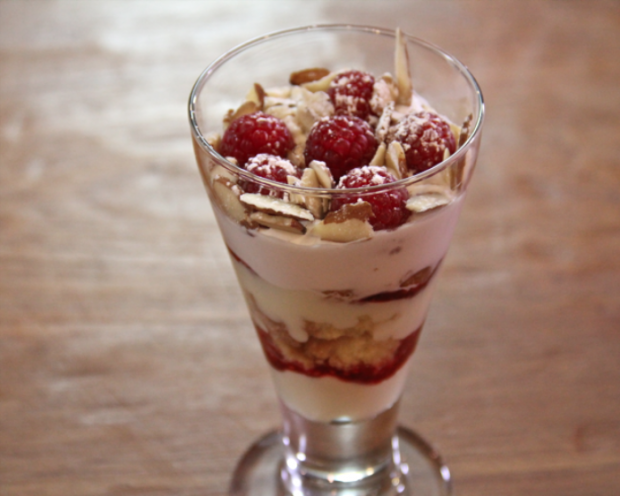Rasberry trifle