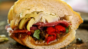 antipasto sandwich 1 - the sam live cast