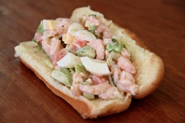 shrimp louis roll - the sam livecast