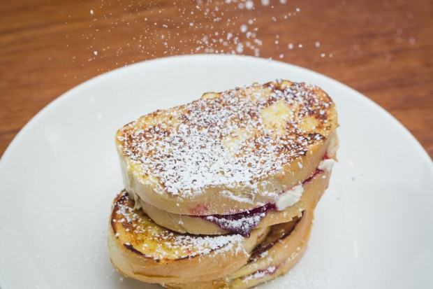 cream cheese and jelly stuffed french toast - the sam livecast