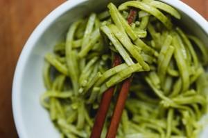 thai noodles with peanut sauce - the sam livecast