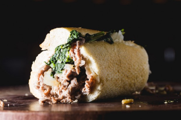 broccoli rabe cheesesteak - the sam livecast