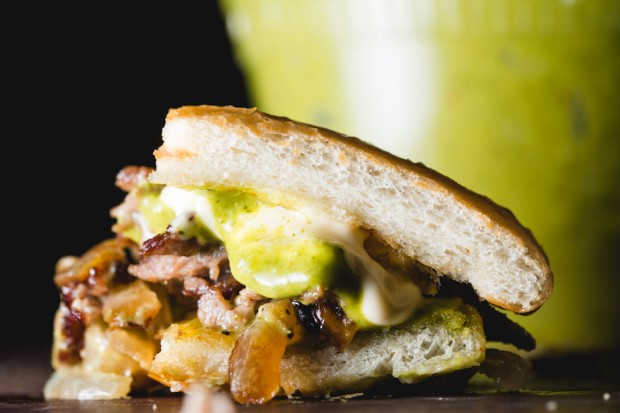 asian cheesesteak with chimichurry - the sam livecast