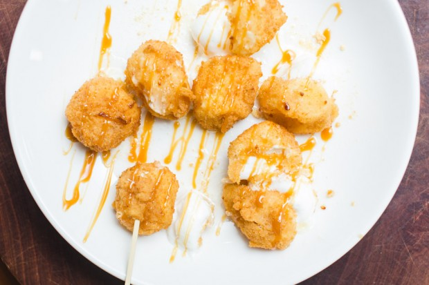 deep fried marshmallows with chicken charlie - the sam livecast