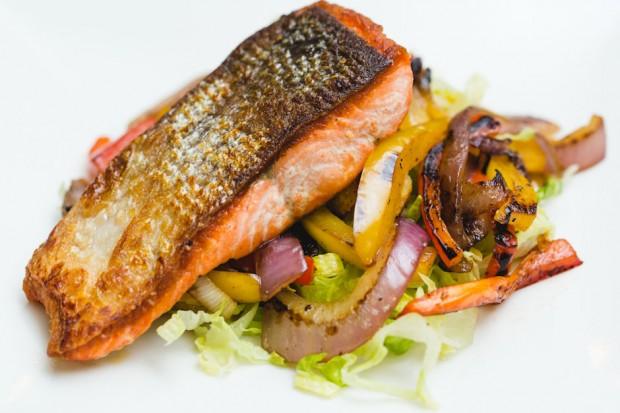 natasha masterchef salmon dish - the sam livecast