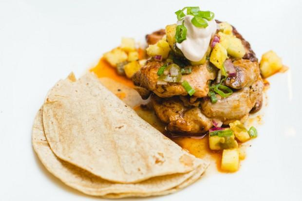 savannah masterchef chicken dish - the sam livecast