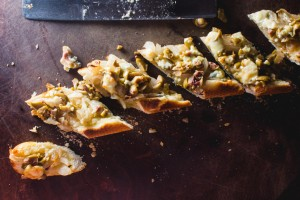 blue cheese olive bread - the sam livecast