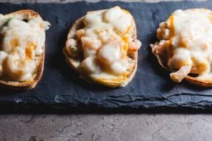 cheesy shrimp toast - the sam livecast