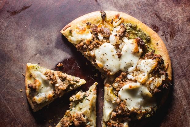 leftover meatloaf pizza - the sam livecast