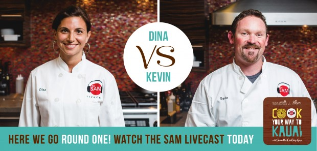 Round 1 Match 1 Kevin and Dina - the sam livecast