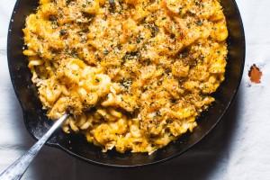 baked pumpkin macaroni - the sam livecast