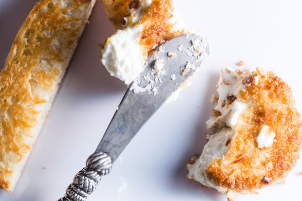 crispy goat cheese - the sam livecast