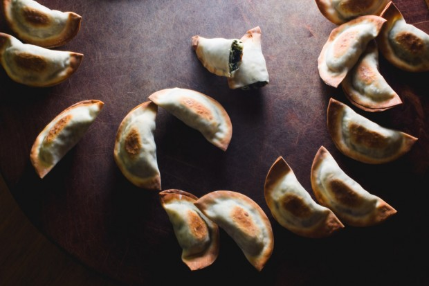 Ricotta & Spinach Won Tons - the sam livecast