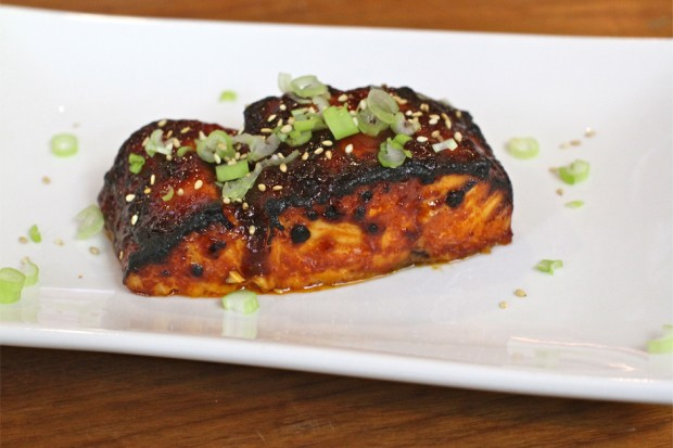 Gochujang Salmon - the sam livecast