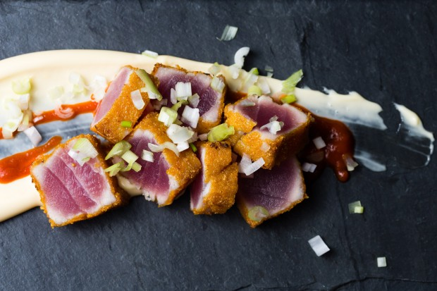 cap'n crunch seared tuna 2 - the sam livecast