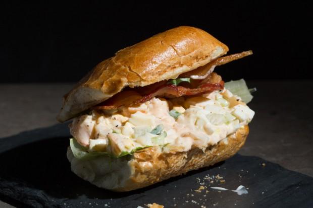 shrimp & egg salad - the sam livecast