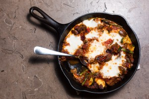 baked cheesy ratatouille - the sam livecast