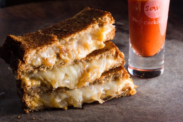 grilled cheese and tomato soup - the sam livecast