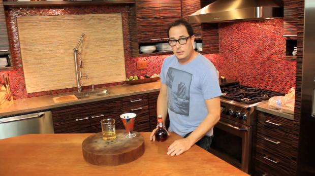sam makes salad dressing - the sam livecast