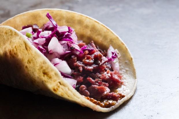 pastrami taco - the sam livecast