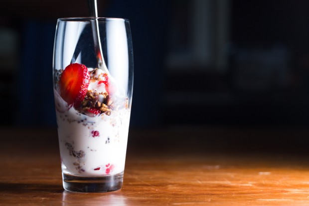 fresh fruit and bourbon trifle - the sam livecast