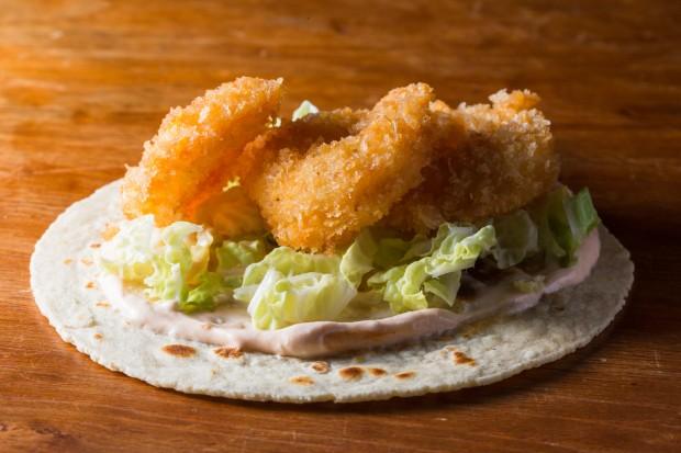 crispy panko shrimp - the sam livecast