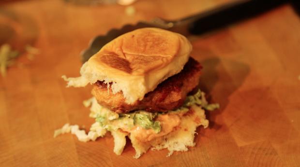 shrimp burgers - the sam livecast