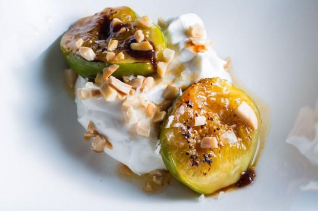Honey Sautéed Figs with Labne - the sam livecast