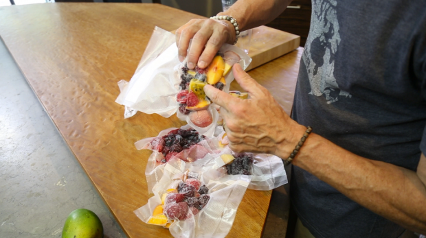 frozen fruit smoothie 4 - the sam livecast