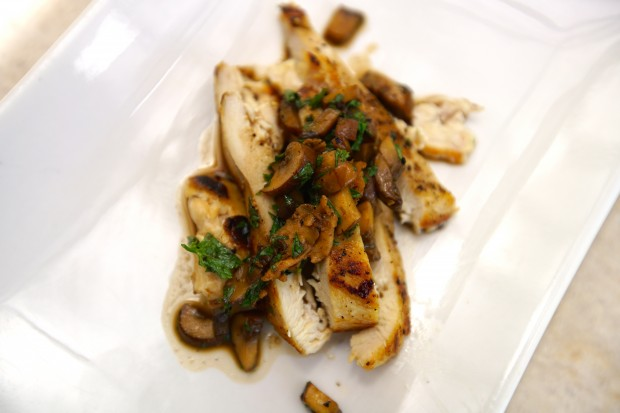 Chicken Pan Sauce with Mushrooms - the sam livecast