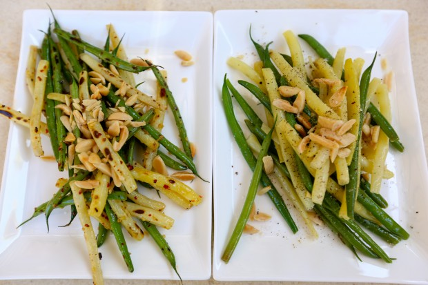 green beans 2 ways - the sam livecast