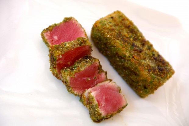 Tuna with Wasabi & Almonds - the sam livecast