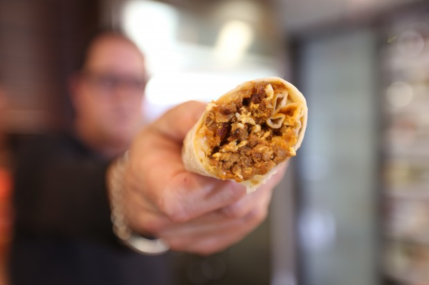 Soyrizo Burrito - the sam livecast