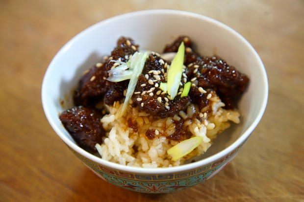 mongolian beef - the sam livecast