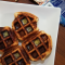 cinnamon bun waffles - the sam livecast