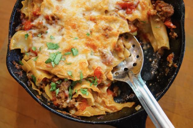 mexican lasagna - the sam livecast