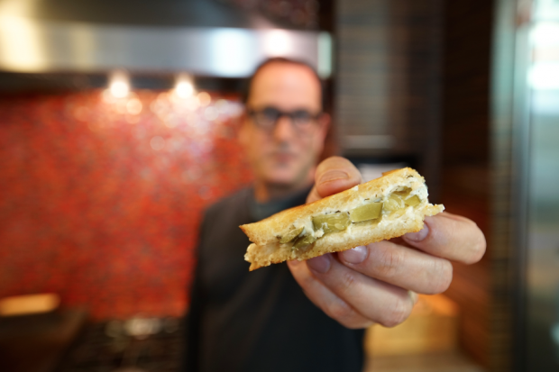 Grilled Cheese with Dill Pickle - the sam livecast