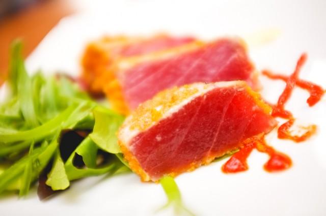 Capn Crunch Seared Tuna