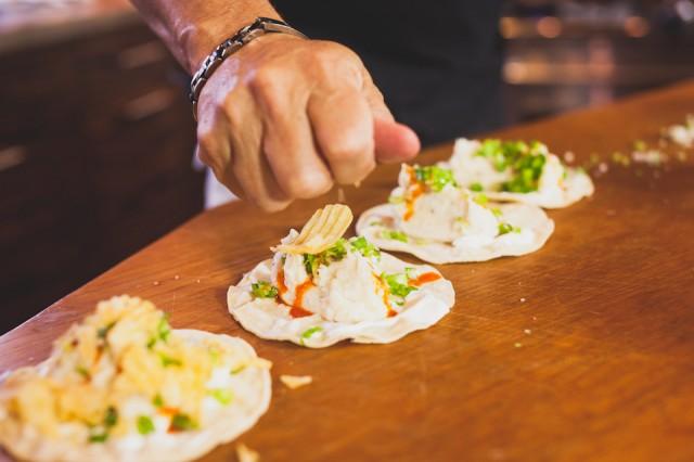Mashed Potato Tacos